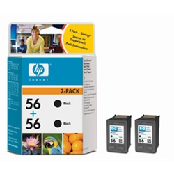 Hewlett Packard [HP] Inkjet Cartridge No. 56